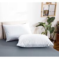 纯色简约枕套可洗酒店乳胶枕芯枕头保护套 48cmX74cm
