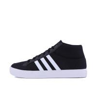 阿迪达斯Adidas BB9890网球鞋男鞋 高帮鞋阿迪轻便帆布圆头休闲板鞋