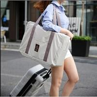 韩版折叠旅行包男女士便携防水可套拉杆箱大容量收纳包手提旅行袋 大
