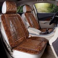 夏天单张竹片竹子凉席汽车坐垫皮卡面包车五菱宏光荣光之光座套