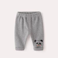宝宝打底裤加厚冬季韩版女童洋气长裤1岁婴童裤子冬装3婴儿加绒裤