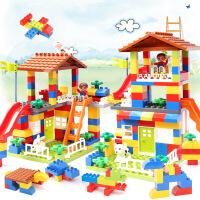 兼容儿童乐高积木宝宝益智拼装玩具城市汽车大颗粒城堡拼插1-6岁
