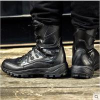 户外 伏击者迷防水高帮作战靴 男轻便徒步登山战术鞋