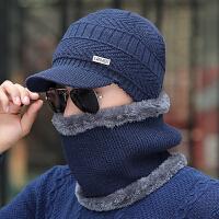 户外冬帽保暖套头帽冬季男士骑车帽包头帽护脖颈帽子