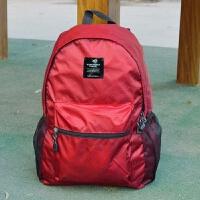 户外旅游轻可折叠皮肤包便携防水旅行双肩背包男女学生书包