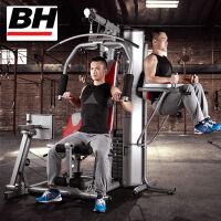 【欧洲百年品牌】BH必艾奇力量综合训练器 多功能家用商用大型健身器材组合训练器械