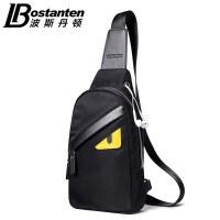 波斯丹顿新款胸包男帆布包男包背包休闲包男士包包单肩包斜挎包韩版潮B5171161