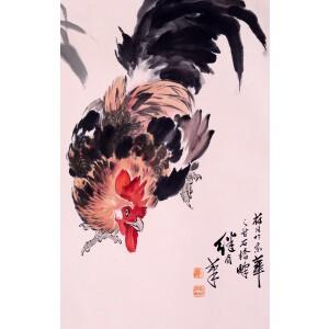 著名画家   刘继卣  《大吉图》