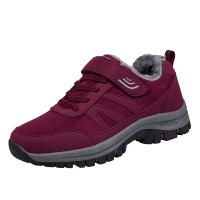 冬季棉鞋加绒加厚保暖中老年人运动鞋男防滑爸爸健步鞋户外妈妈旅游鞋