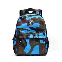 儿童背包男旅行双肩包韩版潮小学生书包6-12周岁男孩幼儿园迷彩包