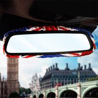 新款英伦时尚米字旗后视镜套 时尚四季通用汽车内饰装饰用品