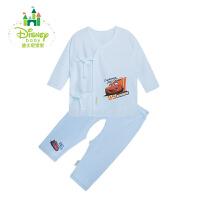 【限时抢:24.9】迪士尼Disney婴儿衣服内衣套装纯棉男女宝宝新生儿全棉套装153T629