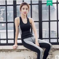 时尚瑜伽运动背心女健身T恤透气性感镂空网眼跑步瑜伽服女