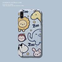 可爱卡通iPhone6s/7/8plus手机壳苹果 max软壳xr日韩潮女保护壳