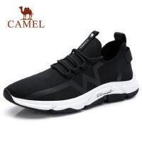 camel骆驼男鞋2018新款韩版潮流袜套运动休闲鞋 ins超火的鞋子老爹鞋男