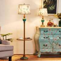 【限时7折】美式客厅台灯沙发茶几落地灯创意简约时尚温馨卧室床头立式台灯