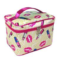 韩国旅行可爱化妆包收纳包洗漱包化妆箱大容量便携折叠小号收纳包