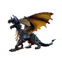 飞龙 恐龙玩具霸王龙塑胶怪兽西方飞龙魔龙魔兽 儿童男孩仿真动物模型