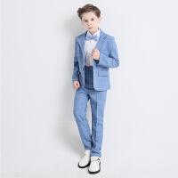 六一儿童西装男童演出服装套装花童礼服男孩钢琴表演西服