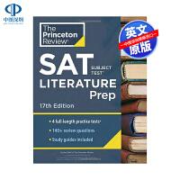 英文原版 普林斯顿评论SAT学科考试文献准备大学预科 第17版 Princeton Review SAT Subject