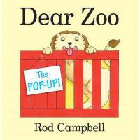 The Pop-Up Dear Zoo 英文原版  亲爱的动物园立体书