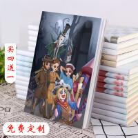 第五周边海报人格笔记本杰克园丁线装本子厚款日记本文具动漫游戏
