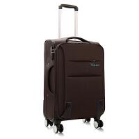 拉杆箱万向轮牛津布软旅行布箱学生行李箱包s6 6001紫色 20寸