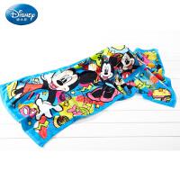 迪士尼(Disney)毛巾家纺 米奇活力四射毛巾 家用洗脸柔软童巾毛巾 全棉 卡通