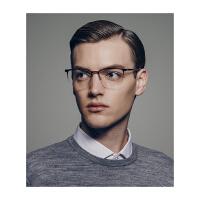 保圣(PROSUN)光学镜架时尚方框光学架男士近视眼镜框PJ8009 B19亮钛黑