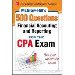 【预订】McGraw-Hill's 500 Financial Accounting and Reporting Qu