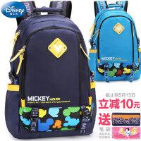 迪士尼小学生书包6-12岁儿童男童女童3-6高年级初中休闲双肩背包