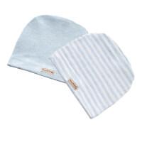婴儿无骨胎帽0-3个月春秋冬季初新生儿童男女宝宝6护卤门帽子 0-6个月