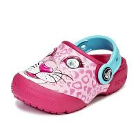 Crocs卡洛驰儿童凉鞋趣味学院小克骆格沙滩鞋|204119