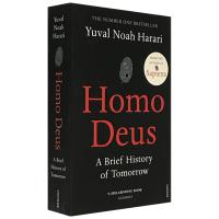 未来简史 英文原版 从智人到智神 Homo Deus A Brief History of Tomorrow 人类简史
