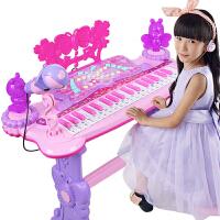 可弹奏音乐玩具 儿童电子琴女孩钢琴初学者入门1-3-6岁宝宝多功能
