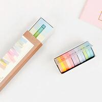 马卡龙手账套装12色彩虹长诗基础纯色素色糖果色手帐和纸胶带整卷