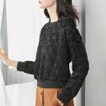 【清仓66元】YHMW雪纺衫女长袖2018秋新款宽松显瘦上衣时尚休闲两件套
