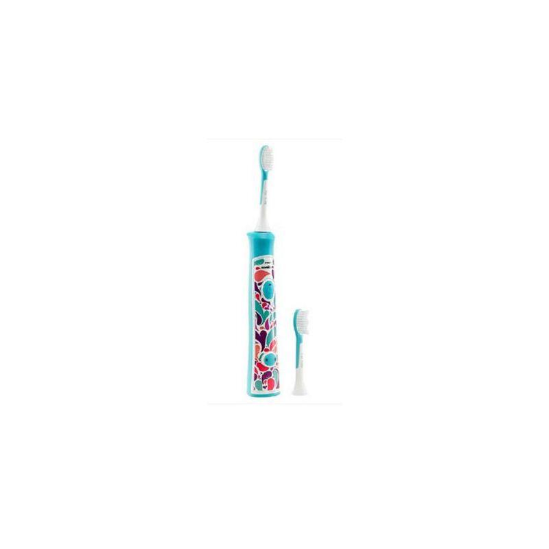 飞利浦 HX6311 儿童电动牙刷 超声波震动牙刷 HX6312升级版 颜色*发哦!