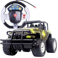 ?男孩玩具可充电遥控玩具车越野汽车 1:18遥控汽车防摔抗撞儿童玩具生日礼物