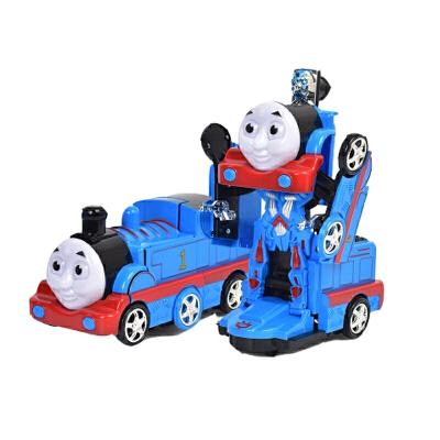 托马斯小火车头电动玩具变形金刚机器人音乐灯光万向轮模型儿童  官方标配 发货周期:一般在付款后2-90天左右发货,具体发货时间请以与客服协商的时间为准