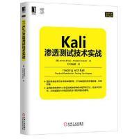【二手旧书9成新】Kali渗透测试技术实战 布鲁德,宾得,IDF实验室