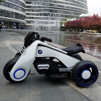 飓风儿童电动摩托车宝宝玩具汽车2-9岁男女小孩电瓶三轮车可坐人