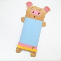 宝宝婴儿童卡通全纯棉加长荞麦壳0-1-3-6-8岁幼儿园枕头