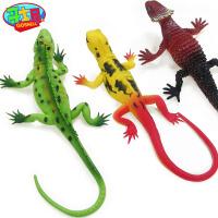 恐龙玩具壁虎玩具软胶仿真动物哥士尼蜥蜴玩具动物玩偶蜥蜴模型
