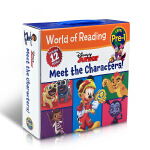 【发顺丰】英文原版World of Reading Disney Junior Meet the Characters