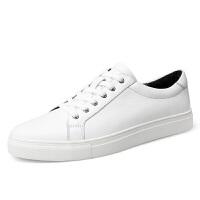 真皮小白鞋45大码男鞋46运动休闲板鞋47韩版青年48大号49透气皮鞋