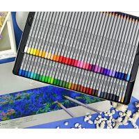 MARCO马可7100-72TN 秘密花园 填色马可油性彩色铅笔24/36/48/72色铁盒装彩色铅笔