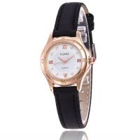 韩版潮流时尚大气女士学生手表 女款皮带腕表 罗马刻度手表
