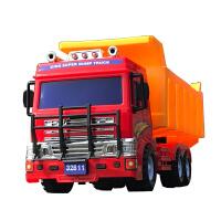 小孩子儿童玩具车男孩大号惯性车翻斗车工程车运输卡车大货车模型