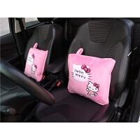 卡通汽车抱枕被子两用一对靠垫被车用可爱午睡多功能空调被车内1